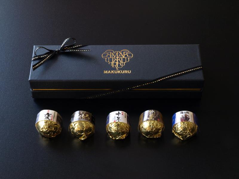 MAKUKURU古酒泡盛5個 | ファッションキャンディ バレンタイン ホワイトデー ギフト 本命 トリュフ 沖縄土産 おみやげ チョコレート 話題