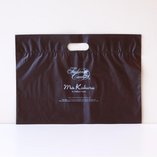手提げポリ袋(茶ビニール)高さ310�o×横428�o